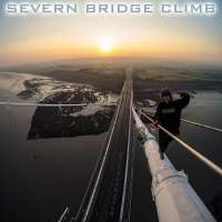 Urban explorer Ally Law climbs Severn Bridge linking England with Wales