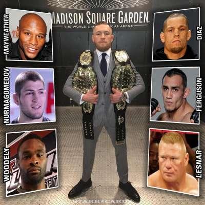 Who will Conor McGregor fight next?